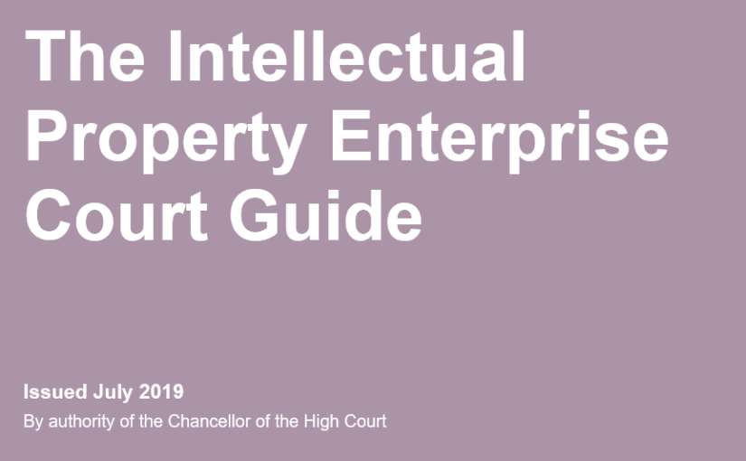 New: IPEC Guide 2019